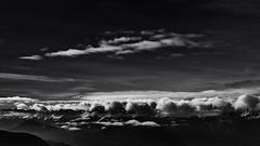 les poussieres qui s amassent... (glookoom) Tags: bw blanc blackandwhite black noiretblanc nature nuage neige paysage lumière light landscape monochrome montagne massif contraste chamrousse ciel vercors france rhônealpes gris
