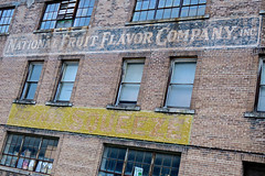 National Fruit Flavor Company, New Orleans, LA (Robby Virus) Tags: neworleans louisiana la nola national fruit flavor co company ghost sign signage brick wall windows building architecture industry industrial faded