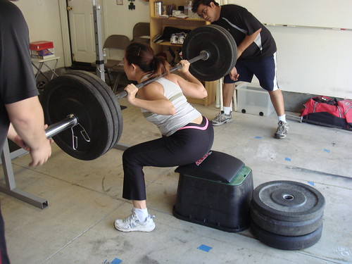 seeing women box squat!