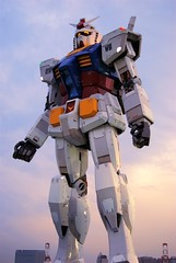 Gundam 30th Anniversary (an.yonghua) Tags: people japan giant tokyo robot cartoon scene event odaiba daiba gundam  2009     shiokaze  alwaysbeginning nikond40x  gaoda 30 greentokyo gundum30thanniversary