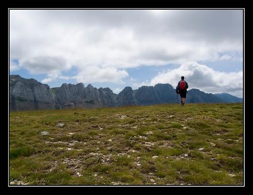 Llegando a la cima de Chipeta Baxo