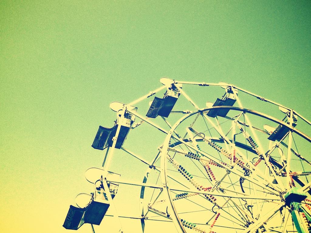 ferris wheel - vintage