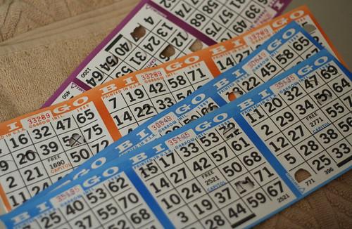 Bingo Cards (Carnival Splendor)