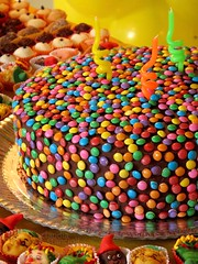 Party (:Claudia:S:) Tags: birthday party cake happy kid yummy colorful candy celebration bolo criana festa aniversrio doces colorido stiodopicapauamarelo candyfaces