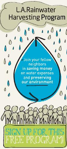 L.A. Rainwater Harvesting Program: Sign up to get a free barrel installed!
