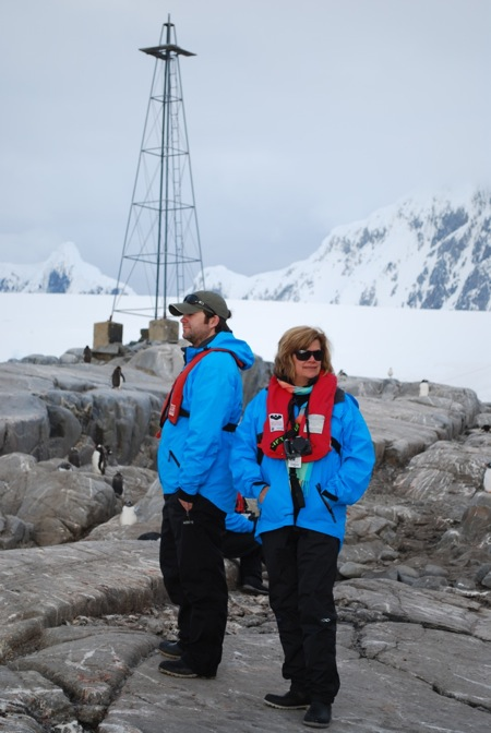 Max & Sue in Antarctica