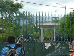 represión en la UNAH 5 de Agosto 11 por Protesta