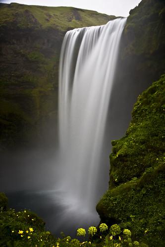 フリー画像| 自然風景| 滝の風景| アイスランド風景|        フリー素材|