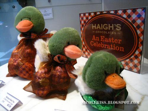 haigh's easter ducks