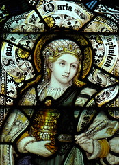 Mary Magdalene (davewebster14) Tags: church glass yorkshire mary stainedglass stained stmary bishop allsaints burton eastyorkshire magdalene wolds kempe saintmarymagdalene bishopburton cekempe charleseamerkempe