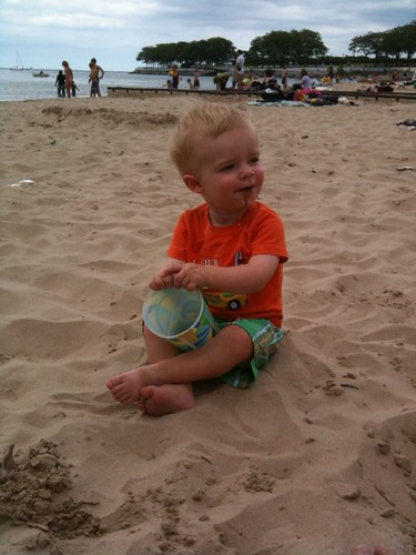 jack at the beach