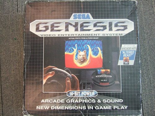 Sega Genesis - Original box