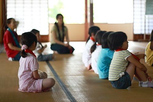 2009順光寺サマースクール 法話の時間