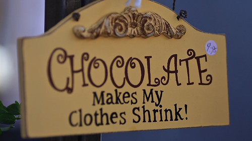 Chocolate sign #1 by dicktay2000, on Flickr