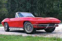 [フリー画像] [自動車] [スポーツカー] [シボレー/Chevrolet] [シボレー コルベット] [1966 Chevrolet Corvette Convertible] [アメ車]     [フリー素材]