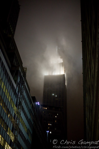 The Empire State Building is Being Swallowed