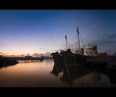 Whale Killers. Reykjavik, Iceland (Nöé) Tags: sunset puerto atardecer harbor iceland islandia barcos ships reykjavik noe the4elements nöé noeliamagnusson wwwnoeliamagnussoncomnöénoemagnusson nöémagnusson