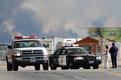 CAL FIRE - DODGE PICKUP TRUCK U17 & CALIFORNIA HIGHWAY PATROL (CHP) (Navymailman) Tags: california ford station fire highway forestry cal chp law enforcement protection department patrol acton cdf californiahighwaypatrol stationfire of