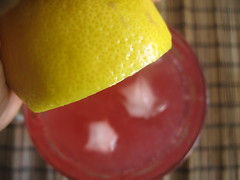Squeeze of Lemon juice