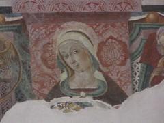 S. Donato, la Madonna nell'affresco più recente
