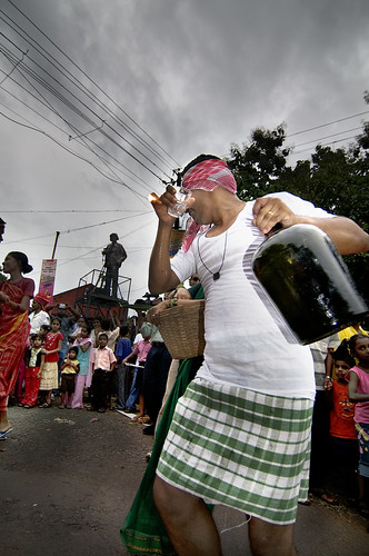 Feni Dancing at Bonderam in Goa !