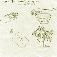 (anastasia kutusheva) Tags: summer square drawing pic nails recycle  canbenailsrecycledasatree
