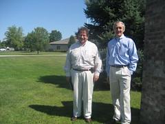 Pastors at new Geist Chapel