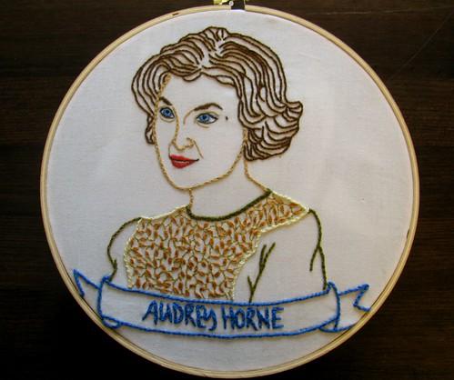 Audrey Horne Portrait