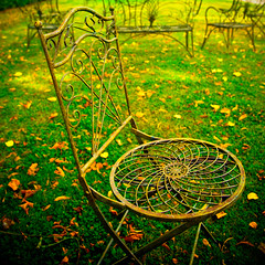 The Garden of Zen {and his chair} (Allard One) Tags: autumn france castle fall countryside nikon calendar herfst explore normandie frankrijk tuin portfolio technicolor cinematic fp frontpage normandy 2009 gettyimages kasteel lightroom bassenormandie chateaudo vibrantcolours vividness 1755mmf28 nikkor1755 explorefrontpage d80 nikkor1755mmf28 nothdr nikcolorefexpro ses tuinstoelen nikond80 mortre itsazenthing allardone allard1 zensgardenchair omniastickinmonday goldenyellowsandpoisonousgreens benginyourface colorefexprofocus allardschagercom