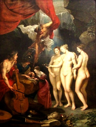 Pierre-Paul Rubens, L'Instruction de la reine, dit aussi L'Éducation de la  reine - a photo on Flickriver