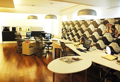escritório decoração