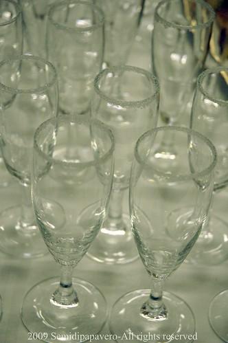 Bicchieri pronti per un Bellini...