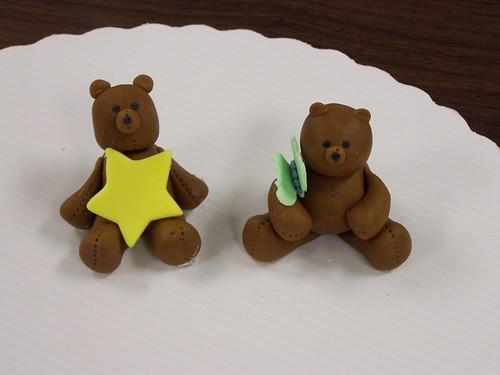 Fondant Bears