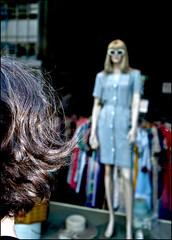 NYC - 3 ( CHRISTIAN ) Tags: nyc newyorkcity urban ny newyork sunglasses fashion hair glasses dress head robe metropolis shopwindow fifthavenue mode lunettes tte vitrine urbain megalopolis cheveux mtropole shoping magasinage 5eavenue lchevitrine mgapole