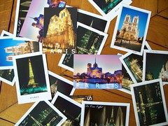 parisian postcards