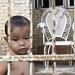 Tiaong boy taking a bath