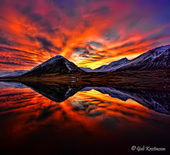 Fire in the sky (Gisli Kristinsson) Tags: coth5 wonderworldgallery