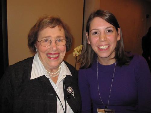 Edie Seashore and Laura Horwitz