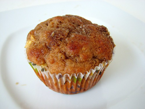 KAF Whole Wheat Apple Muffins