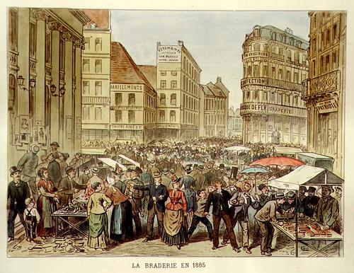 009- El mercadillo en 1885-Lille ancien monumental Edouard Boldoduc  1893
