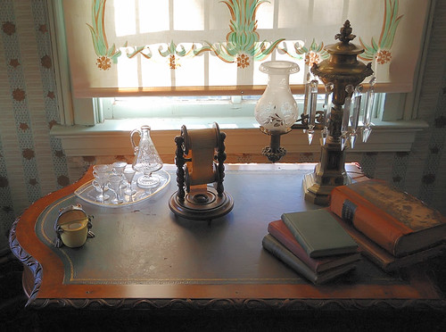 Chatillon - DeMenil House, in Saint Louis, Missouri, USA - desk