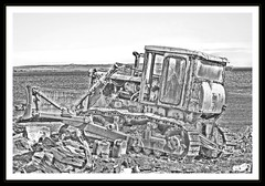 Earth Mover - B&W (Arcvil) Tags: travel colour slr art digital canon photography eos scotland photo photographer technology sheffield sigma filter photograph hdr ayo 400d thebestofhdr bestofhdr ayofimusanmi fimusanmi arcvil