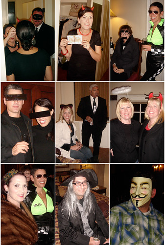 Halloween Collage 2009