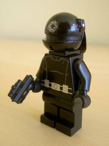 Death Star Gunner custom minifig