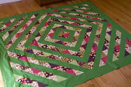 new quilt top