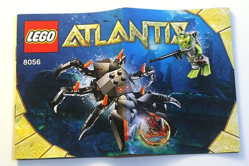 LEGO Atlantis 8056 - Manual