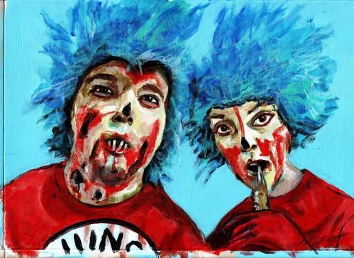 Dawn Schreiner painting