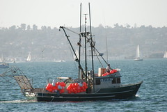The Linde (Thank You 7.5 Million Visitors!) Tags: fishingboat sandiegobay