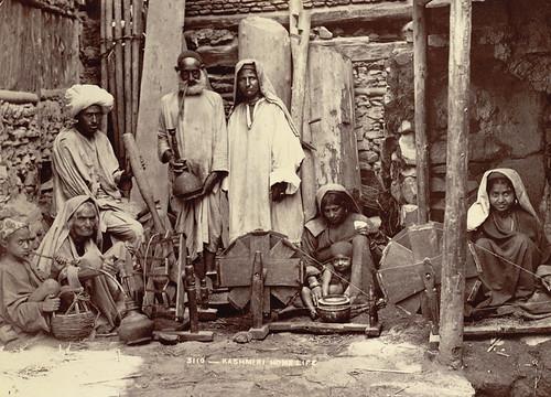 Kashmiri home 1890