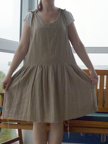 Sewing - Brown dress
